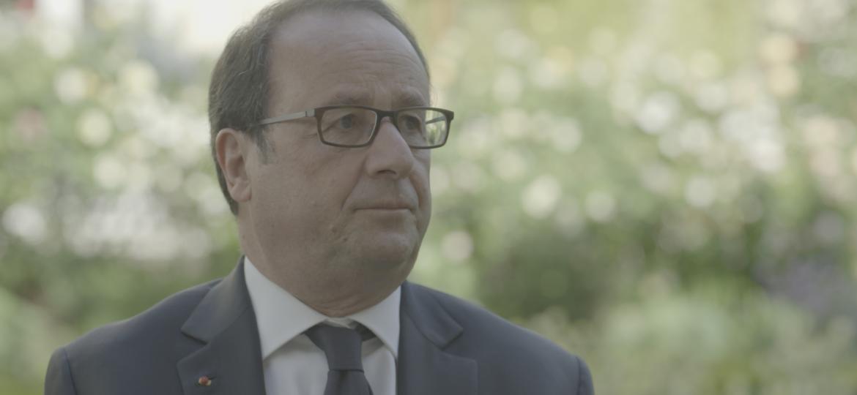 François Hollande, Dernier jour d'un président
